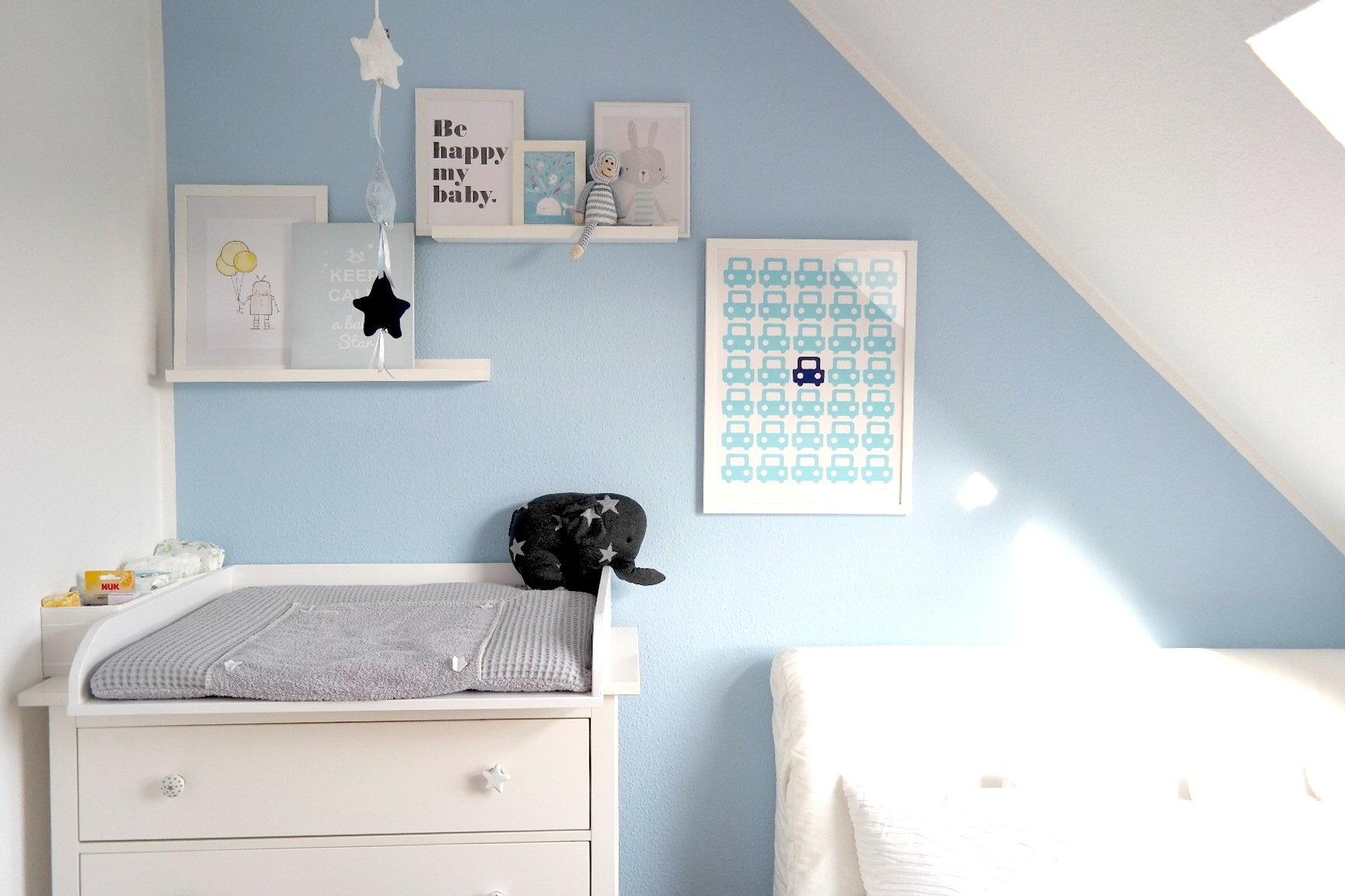 Babyzimmer Bilder Collage Wand Elefant Mobilee Baby S Only Ikea